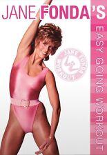 JANE FONDA - EASY GOING WORKOUT  DVD NEU