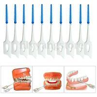 Convenient Teeth Oral Care 40PCS Clean Interdental Floss Brushes Dental Tool