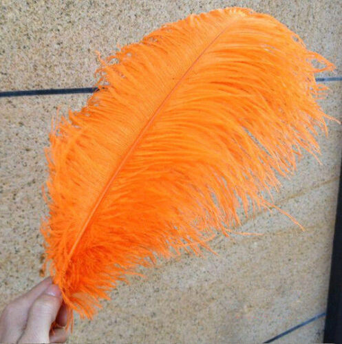 """Wholesale 10-100pcs /""""thick stem/""""  male ostrich feathers 16-32 inches 15-80 cm"""