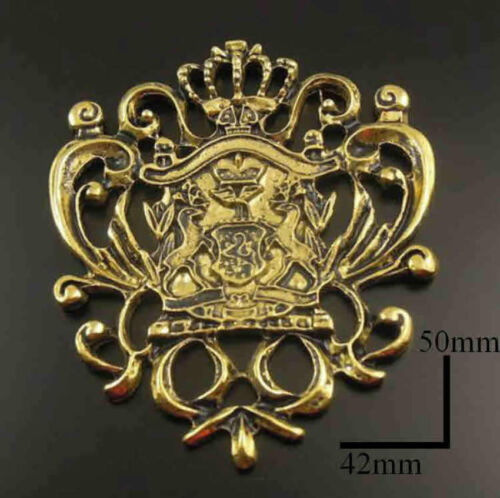 1/12 dolls house miniature Coat of Arms Shield Plaque Ornament fireplace Picture