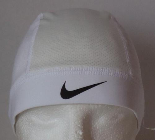 aabdaea19c328 Nike Pro Combat Hypercool Skull Cap Color White Black Mens Women s OSFM