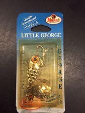 Mann/'s Little George 1//2 Oz White Black WB2