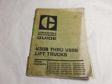 Oem Caterpillar V30b V35b V40b V45b V50b V55b V60b Forklift Maintenance Manual