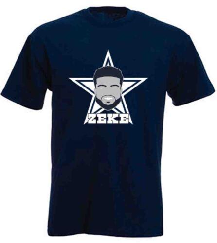 "Ezekiel Elliott Dallas Cowboys /""FACE/"" jersey T-shirt Shirt or Long Sleeve"
