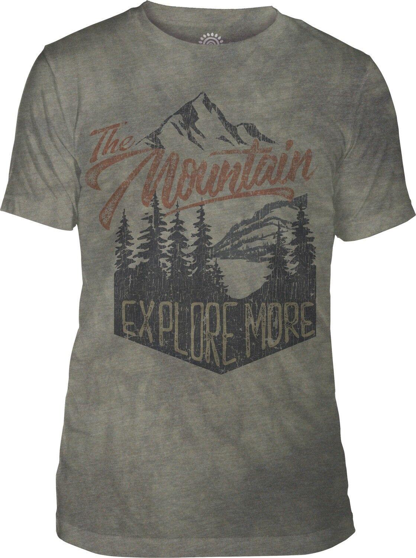 The Mountain Adult Explore More Tri-Blend Adventure T Shirt