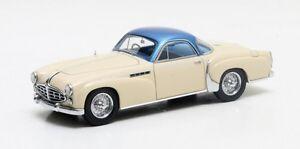 Matrix Max50408-011 - Delahaye 235 Coupé Chapron Blanc/bleu 1958 1/43