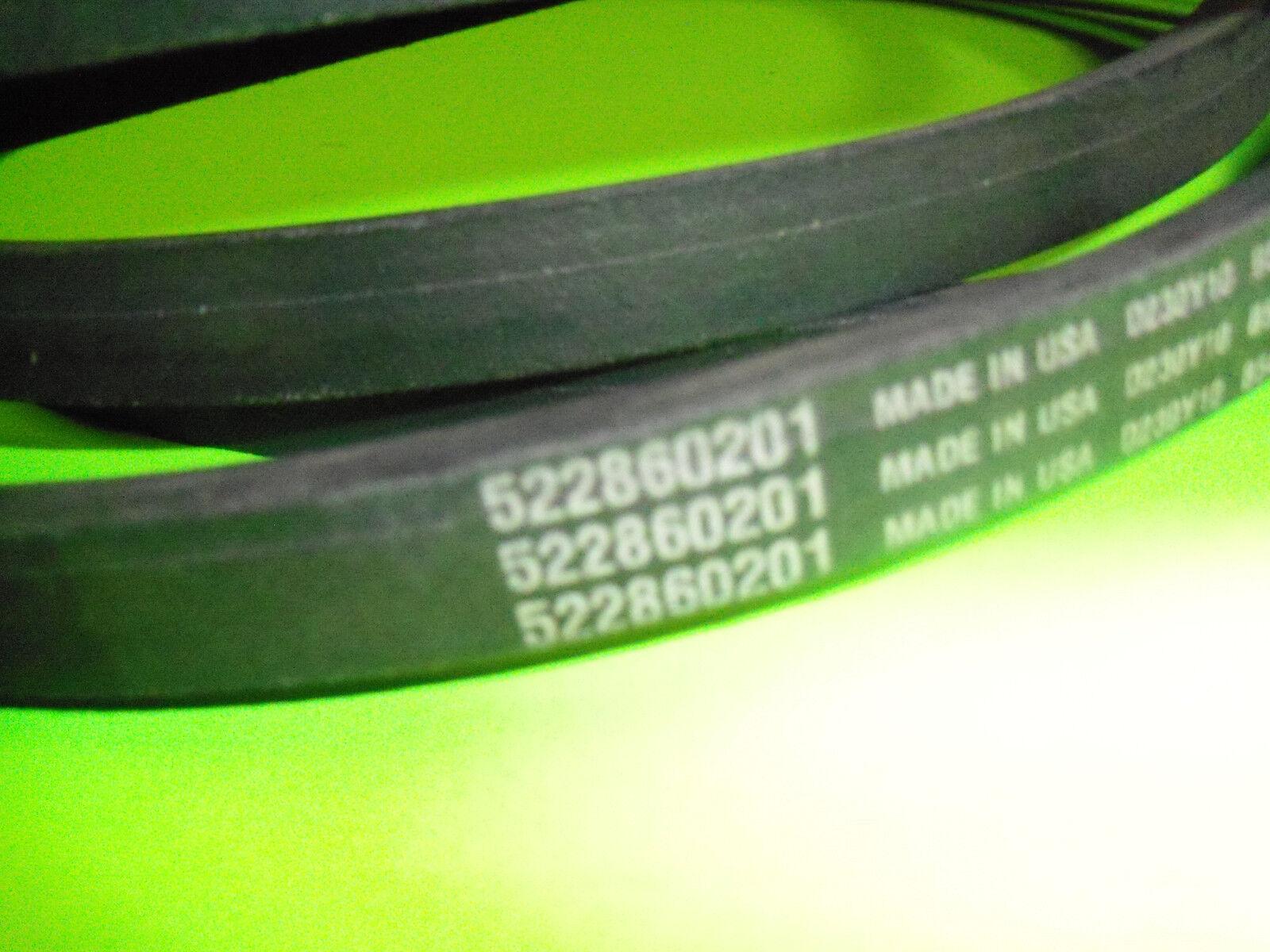 Nuevo Cinturón Husqvarna Cortador Cubierta ajusta PZ26D PZ6029D 61  cubiertas 522860201 OEM
