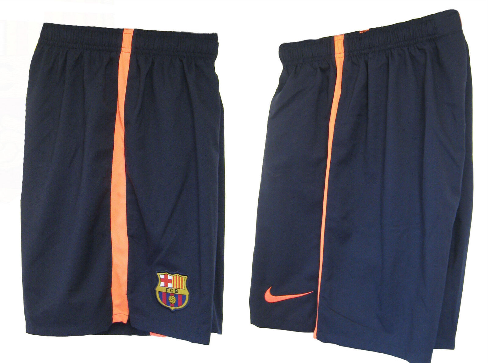 New NIKE BARCELONA Away Football Shorts NBP Youth Boys Girls XL Age 13-15 years