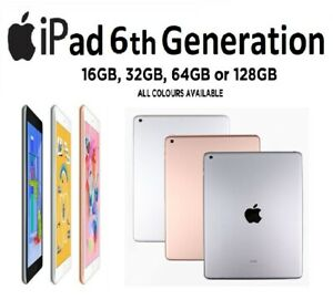 Apple-iPad-6th-Generation-9-7-034-WiFi-32-Go-12-Go-Or-Rose-espace-gris-argent