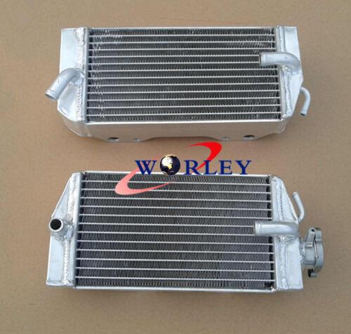 For HONDA CRF450 CRF450R 02 03 04 Aluminum Radiator CRF 450 450R 2002-2004
