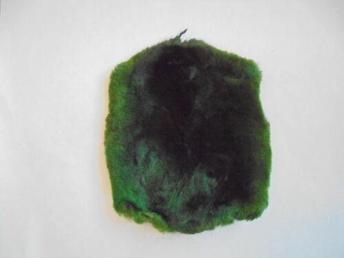 Fly tying Genuine Veniard taupe Skins Top Qualité Matériel Teint Vert