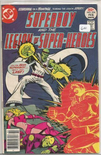 Superboy /& the Legion U-PICK ONE #224,225,227,228 or 229 DC PRICED PER COMIC