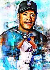 2021-Roberto-Alomar-New-York-Mets-16-25-Art-ACEO-Sketch-Print-Card-By-Q