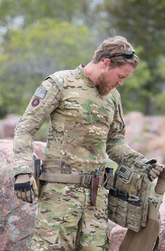 US PROPPER Multicam Shirt OCP OEF Army Tactical TAC.U Combat TACU Shirt Multicam Hemd XXLarge 89ee27