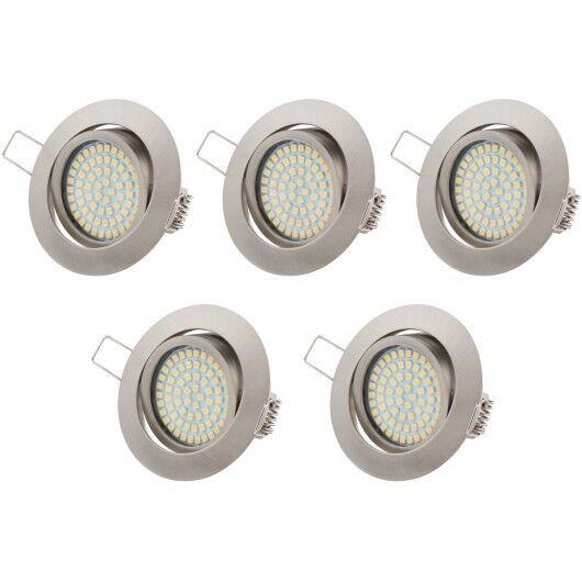 TEVEA® Ultra Flach LED Einbauleuchten   350lm   3.5W   230V   Einbaustrahler