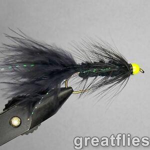 - Crystal Bugger OLIVE Bead Head 1 dozen 12