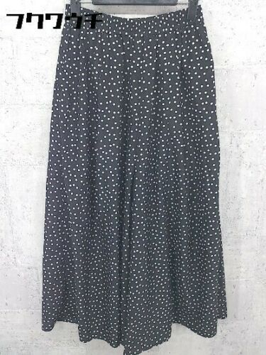 Ray Beams Waist Rubber Dot Polka Dots Gaucho Pants