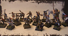 WHFB Mordheim/Mortheim Mercenaries/Söldner Kriegsbande Middenheim 16 Miniaturen