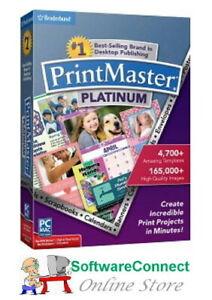Broderbund-PrintMaster-7-Platinum-Print-Master-GENUINE-GUARANTEE