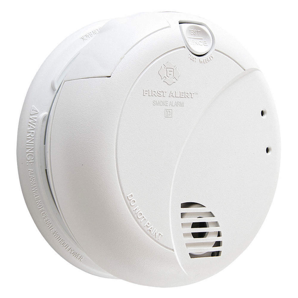 Secureguard 36 Hrs Battery Powered Smoke Detector 1080p Wifi Spy
