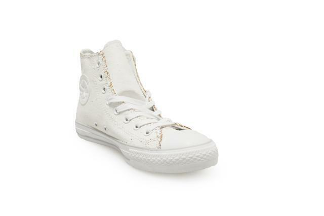 Unisex Converse Chuck Taylor All Star Ox High - - - 551924C - White gold Trainers 9b145d