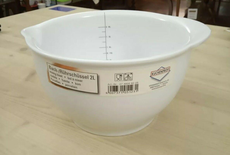 da non perdere! Kuchenprofi bolo in porcellana per mescolare con beccuccio beccuccio beccuccio e misuratore  nuovo sadico