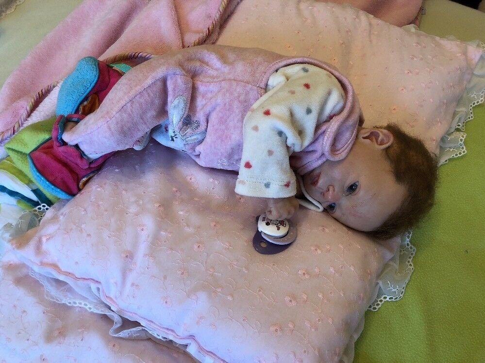 Olga Auer  Reborn Baby Adelya Mit  Original Original Original Zertifikat 9f09ea