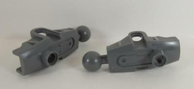 Bionicle Rahkshi Torso Lower Section 44135 DK GRAY LEGO Parts~ 2 old