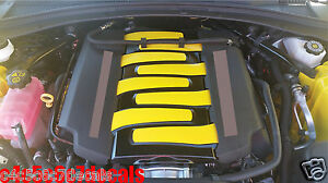 Image Is Loading Chevy Camaro Ss V8 Engine Cover Decals 2016