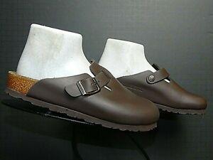 8326f16fe0f16b Women s Birkenstock Germany Brown Oiled Leather Classic Boston Clog ...