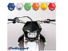 Polisport MMX Road Legal Headlight Enduro KTM CRF XR WRF YZF DRZ - YELLOW