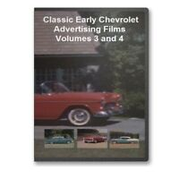 Chevrolet 30's-50's Promotional Film Series On 4 Dvds Chevy - A29-32