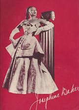 """Direct From Paris"" JOSEPHINE BAKER First American Tour 1951 Souvenir Program"