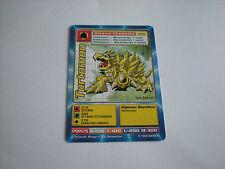 Carte Digimon Tortomon !!!