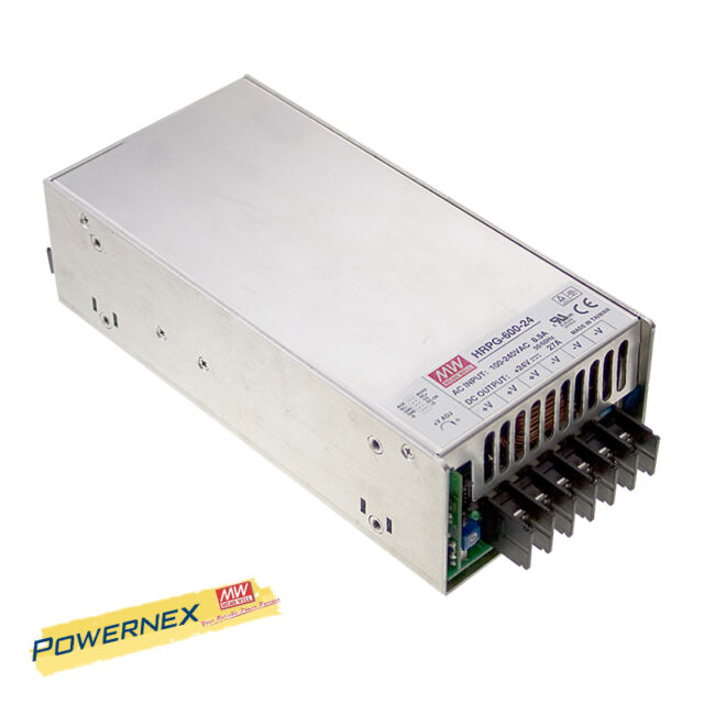 MW Mean Well HRP-450-15 15V 30A 450W Single Output with PFC Function Power Supply