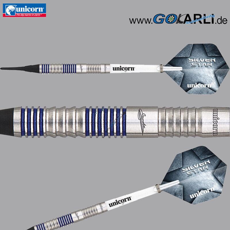 Unicorn Soft Darts Gary Anderson Silver Star P3 Softtip Darts Softdart