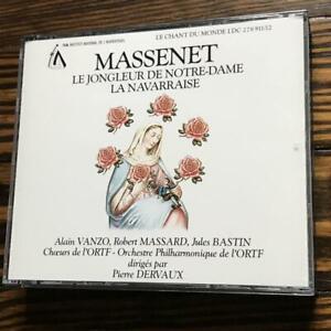 Dervaux-Massenet-Le-Jongleur-de-Notre-Dame-La-Navarraise-Vanzo-Massard