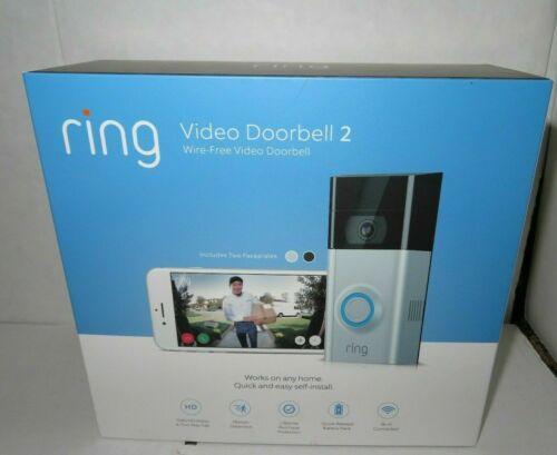 1080 HD Factory Sealed ORIGINAL RING Doorbell 2 Bronze Nickel in Package