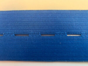 Gummiband-farbig-blau-Waeschegummi-40mm-breit-1-Meter-Stueck-fuer-Masken