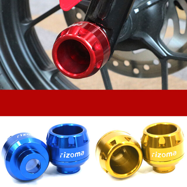 4PCS Universal Motorcycle Front & Rear Fork Wheel Frame Slider Crash Protector