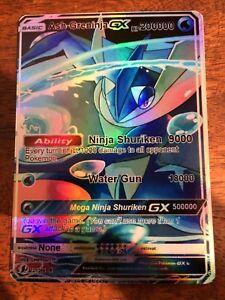 LEGGI LA DESCRIZIONE M ASH B GRENINJA GX EX Mega Full Art Shiny ORICA Pokemon xSv844Pr-09161601-270160378