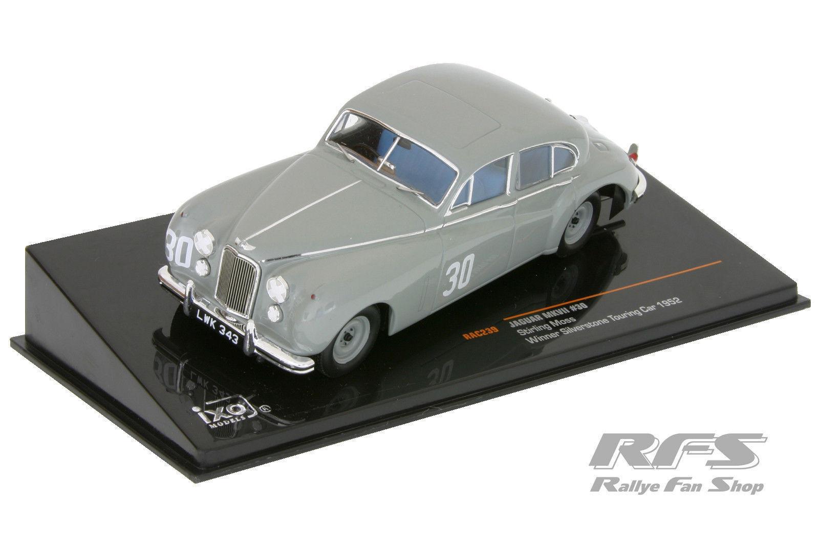 1 43 43 43 jaguar Mk VII-Stirling Moss-Winner Platastone Touring Car 1952 814cd6
