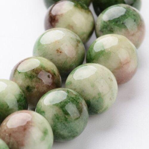 25 perles de jade 8 mm