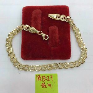 Gold-Authentic-yellow-gold-bracelet-18k-saudi-gold-7-5inches