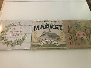 Lot of 3 2021 Dollar Tree Calendars: Farmers Market, Be ...