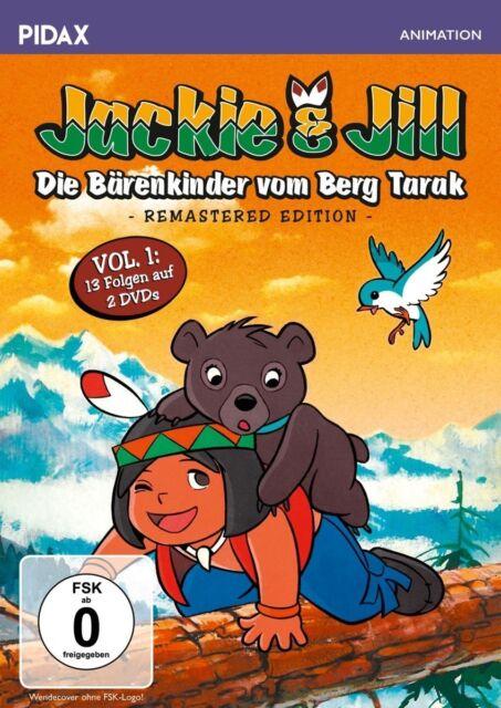 Jackie & Jill - Die Bärenkinder vom Berg Tarak - Vol. 1 * DVD Anime-Serie Pidax