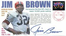 COVERSCAPE computer designed 80th birthday of NFL legend  Jim Brown event  cover
