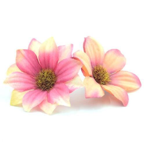 30pcs Artificial Flowers Wholesale Fake Flowers Heads Gerbera Daisy Silk Flower