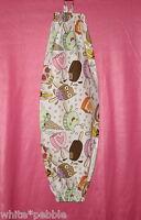 Handmade Grocery Bag/rag Dispenser - White - Ice Cream Cones And Ice Cream Bars