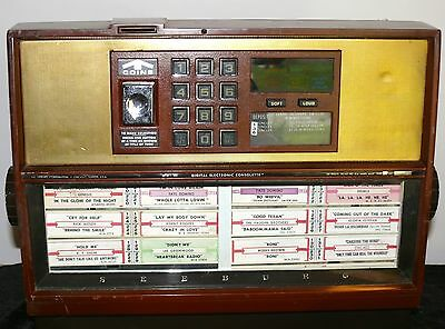 SEEBURG JUKEBOX 1970 SELECTOR WALL UNIT